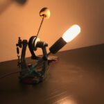 staande pedaal lamp Sonor