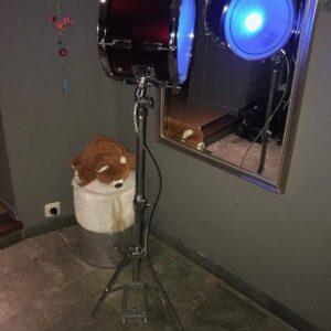 coole stoere staande tiener lamp