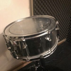 Pearl Forum series steel snaredrum.