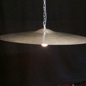 vintage bekken hanglamp