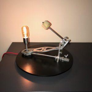 Vintage design drumlamp