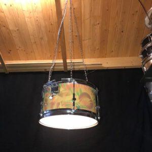 Stoere drum hanglamp