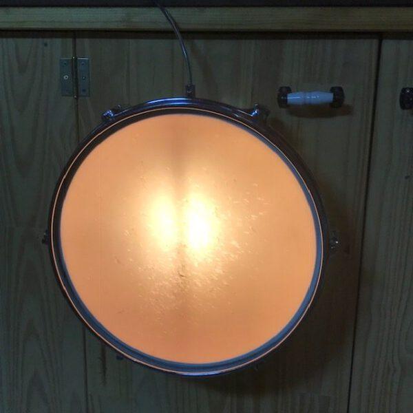 Witte schemer wandlamp Sonor