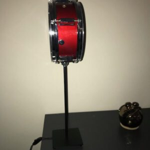 staande rode mini drumlamp