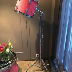 Staande vintage drum lamp