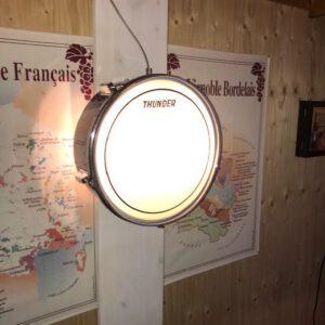 Schemer wandlamp