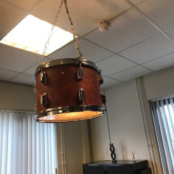Red marble hanglamp