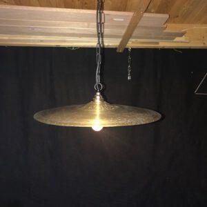 Vintage bekken hanglamp Road