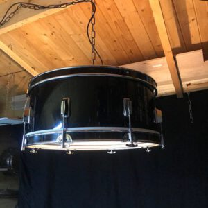 Grote stoere hang drumlamp