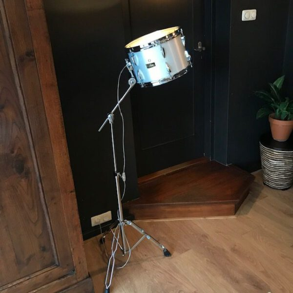 Staande drum lamp