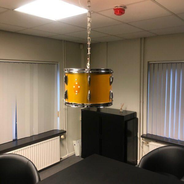 Majestic hang drumlamp